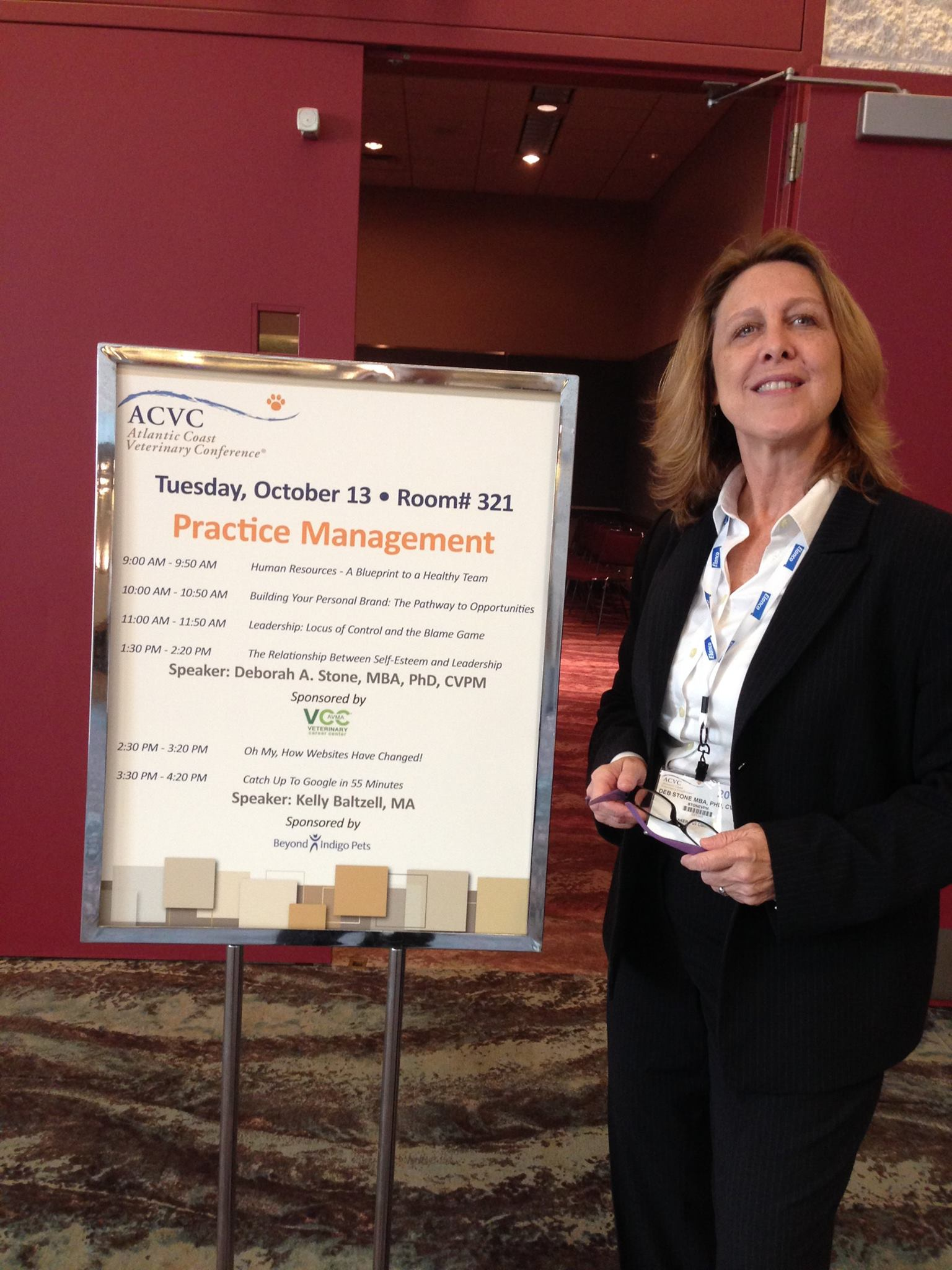 Dr. Stone presented at the Atlantic Coast Veterinary Conference.
